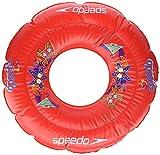 Speedo, Sea Squad Swim Ring, Flotador Redondo, Unisex Bebé, Rojo Lava, Talla Única, 2-3 años