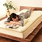 EMOOR Japanese Traditional Futon Mattress Classe (55 x 83 x 2.5 in.), Full-Long Size, Made in Japan #1