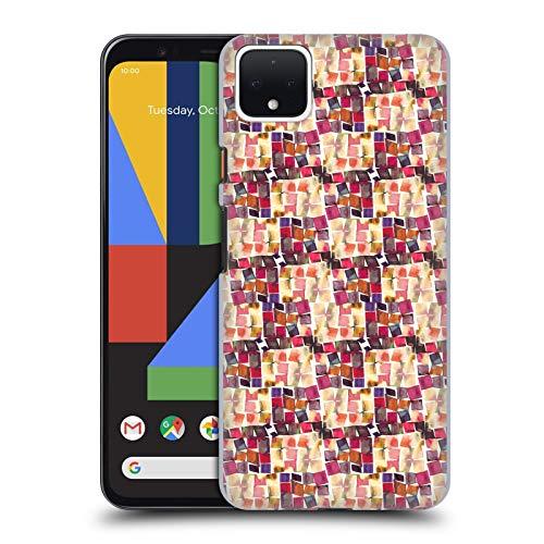 Officiële Ninola Minimale haak Patronen Hard Back Case Compatibel voor Google Pixel 4 XL