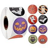 liuchenmaoyi Etiqueta de Halloween Etiqueta de Sellado Etiquetas...