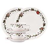 Hutschenreuther 02460-725492-28364 Weihnachtsleckereien Porzellan-Set