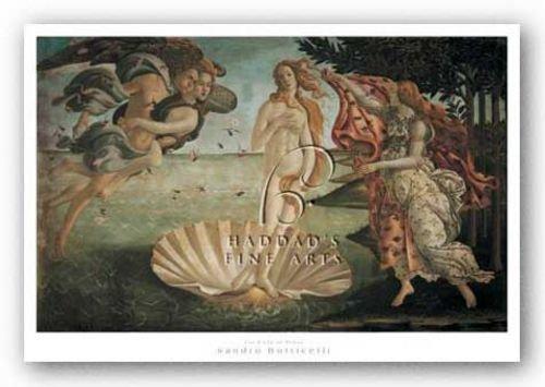"Birth of Venus by Sandro Botticelli 18""x11.25"" Art Print Poster"
