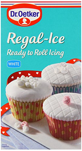 Dr. Oetker - Regal-Ice - Ready to Roll Icing - White - 454g