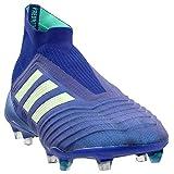 adidas Mens Predator 18+ Firm Ground Soccer Casual Cleats, Blue, 9.5