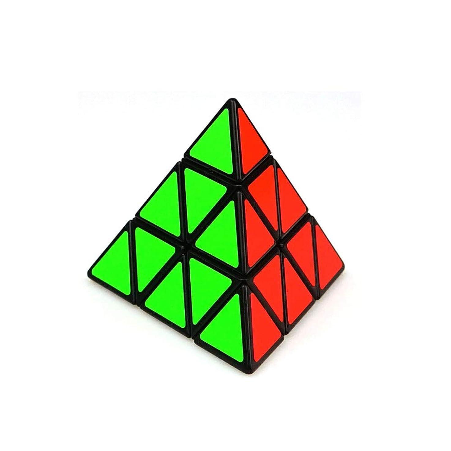 メドレー日付動的Jielongtongxun ルービックキューブ、3次スタイルデザイン、安全で環境にやさしいデザイン、ギフトとしてもお使いいただけます(三角) 美しい (Edition : Triangle)