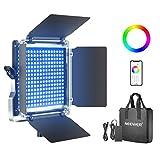 Neewer 660 RGB Luz LED con Control Aplicación, 660 SMD LED...