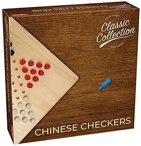 Tactic - 40220 - Jeu de Société - Coffret Dames Chinoises en Bois