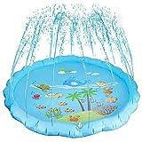 ✔ FONTANA SPLASH DEL PARCO ACQUATICO NEL TUO GIARDINO: I nostri bambini adorano giocare con l'acqua quando c'è il sole. Questo tappetino per irrigazione spruzza l'acqua come una fontana, la piscina perfetta con cui divertirsi. Divertiti con i giochi ...