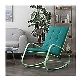 luyiyi Silla Mecedora Silla de Siesta for Adultos Balcón Silla Silla Mecedora Nordic Simple Lazy Easy Chair (Color : A)