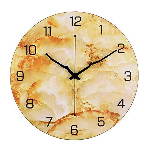 Orologio da parete Moderno, 30cm Orologio da parete Grande Cucina, Vintage Orologio da Muro Orologio da parete Moderni,...