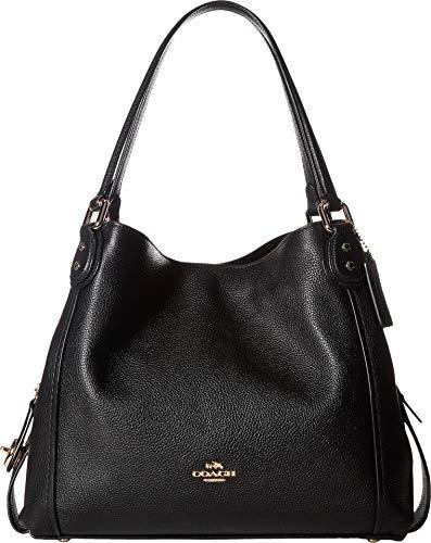 Coach Edie 31 Ladies Medium Pebbled Leather Shoulder Handbag 57125