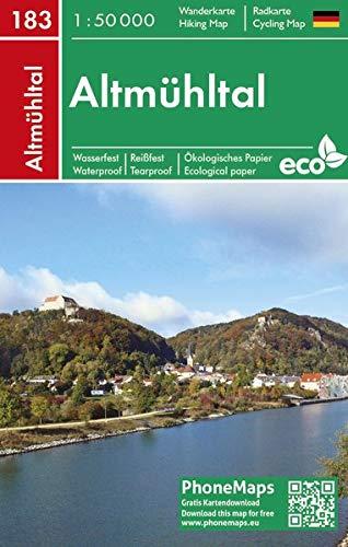 Altmühltal, Wander - Radkarte 1 : 50 000 (PhoneMaps Wander - Radkarte Deutschland, Band 183)
