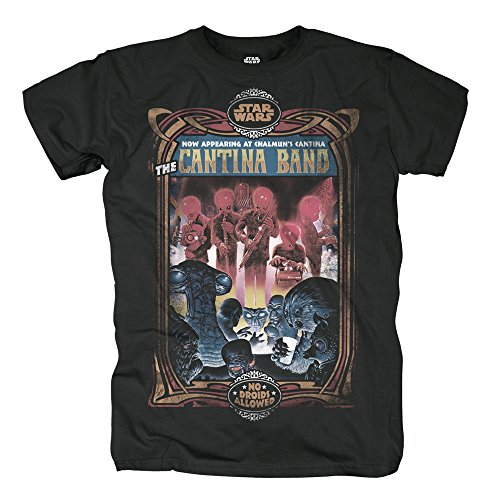 Star Wars - Star Wars Star Rouge One Heren T-shirt - Chalmuns Cantina Band (S-XL)