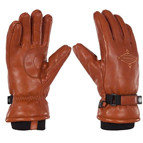 Rossignol RLEMG86-813 Men's Butter Gloves, Saddle, X-Large