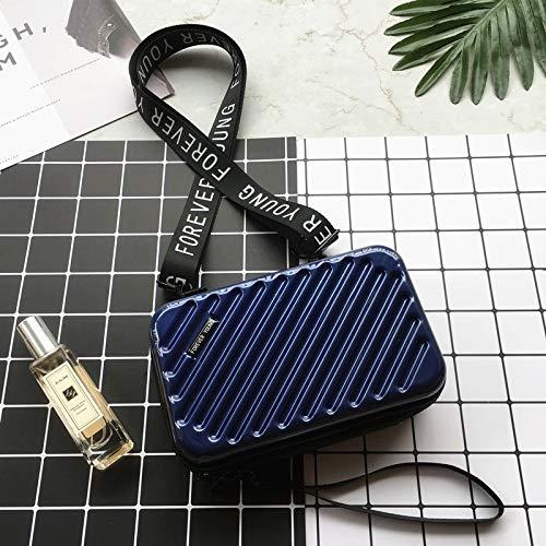San-Hai Bolso de Las señoras 2020 Bolso Mini Equipaje Mini Lady Clutch Mini Equipaje San-Hai (Color : Royal Blue)