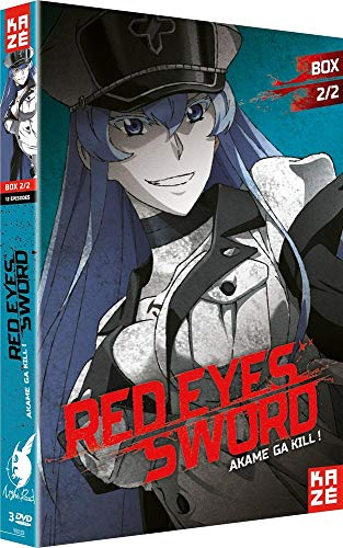 Red Eye Sword-Akame GA Kill-Coffret 2/2-DVD