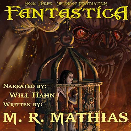 Demon of Destruction audiobook cover art