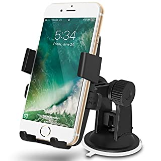 Greatshield GS09039 Quick Grip Universal One-Touch Windshield/Dashboard Car Mount Holder for Cell Phones and GPS Devices with Width 2 to 3-Inch (B00DGBAEDI) | Amazon price tracker / tracking, Amazon price history charts, Amazon price watches, Amazon price drop alerts