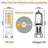 Zoom IMG-1 lampadina g9 led 5w luce