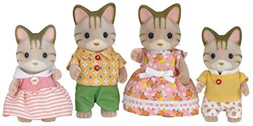 Sylvanian Families - 5180 - Familia Gato de Rayas
