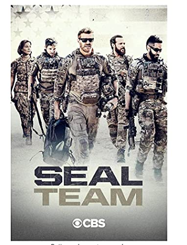David Boreanaz Starring TV Seal Team Seizoen 4 (2020) TV Cover Art Poster Canvas Schilderij Home Decor High Definition…