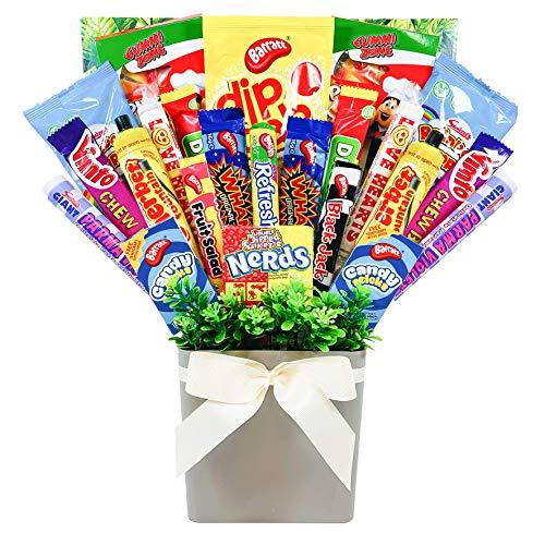 XL Mega Retro Sweets Bouquet Gift Hamper in Presentation Box
