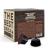 Note dEspresso - Cápsulas de chocolate, Exclusivamente Compatibles con cafeteras de cápsulas Nescafé, Dolce Gusto, 48 unidades de 14g
