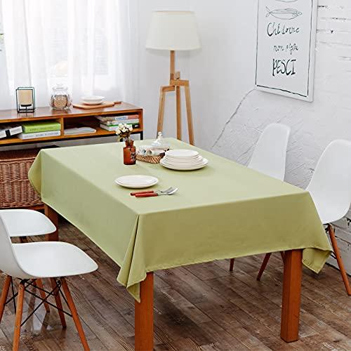 Mantel Moderno Y Simple De Poliéster Teñido En Hilo, Mantel Impermeable A Cuadros, Mantel Geométrico Liso para Mesa De Centro, Mantel