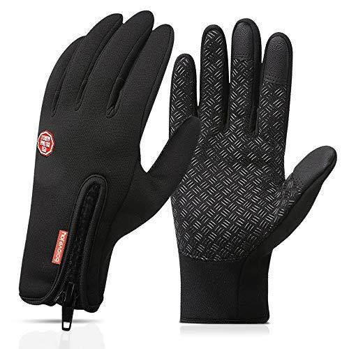 Touchscreen Handschuhe,Nasharia Outdoor Laufhandschuhe Radfahren Jagd Sports Handschuhe Fahrradhandschuhe mit Touchscreen Funktion Für Herren und Damen Laufen...