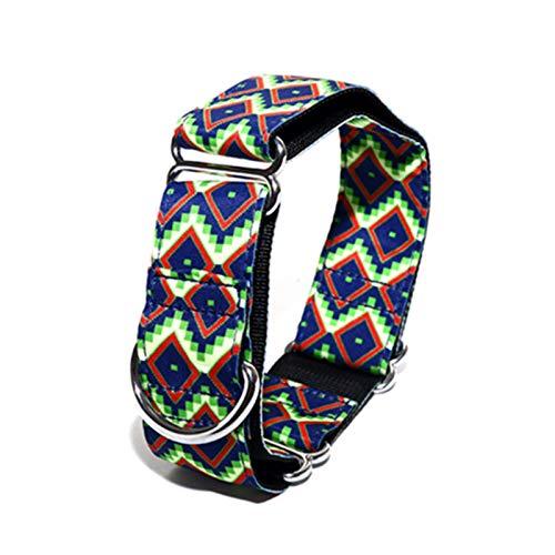Collar de Galgo Collares Anchos Collar de Perro-2.5 cm de Ancho