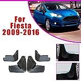 Cobear 4X Parafanghi Auto Anteriore e Posteriore Paraspruzzi per F ORD Fiesta Hatchback 2009-2016 Guardie Splash Styling Auto e carrozzeria Nero