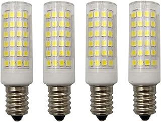 JKLcom E14 LED Dimmable Light Bulbs 9W (Equivalent to 60W Halogen) E14 Base Cool White 6000K LED Corn Light,78 LED 2835 SMD,Dimmable,E14 Ceramic Base,Pack of 4