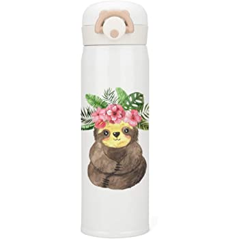 I Love You Just As Much As I Love Sleeping Sports Water Bottle Sloth Animal