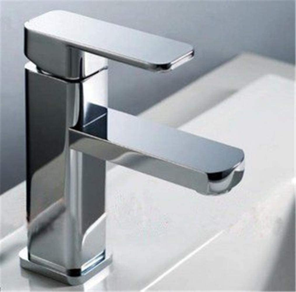 SH-CHEN Faucet Max 46% OFF Low Square Louisville-Jefferson County Mall Single Hole Basin Zinc A