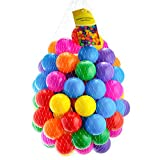 Straame Playables Multi Coloured Pit Balls | Crush Proof | No Sharp Edges