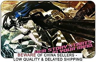 Black Rock Shooter Anime Stylish Playmat Mousepad (24 x 14) inches [MP] Black Rock Shooter-28