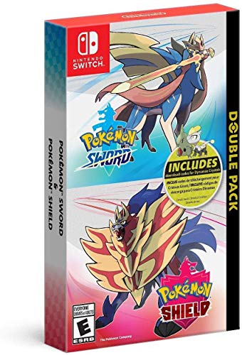 Pokémon Sword and Pokémon Shield Double Pack - Nintendo Switch (Renewed)