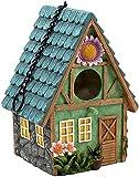 Desktop-Skulptur Harz Skulptur Vogelhaus Hängen Outdoor Vogel Nest Dekoration Statue Handgemalte Handwerk Garten Bauernhaus Dekoration Anhänger Geschenk
