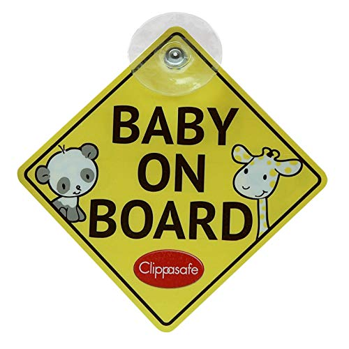 Clippasafe Baby and Child On Board Sig