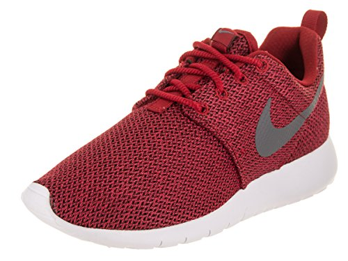 NIKE Kids Roshe One (GS) Gym Red/Cool Grey Anthracite Running Shoe 5.5 Kids US
