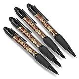 Hermoso y cómodo juego de cuatro bolígrafos a juego – Nueces mixtas de alimentación saludable #45748