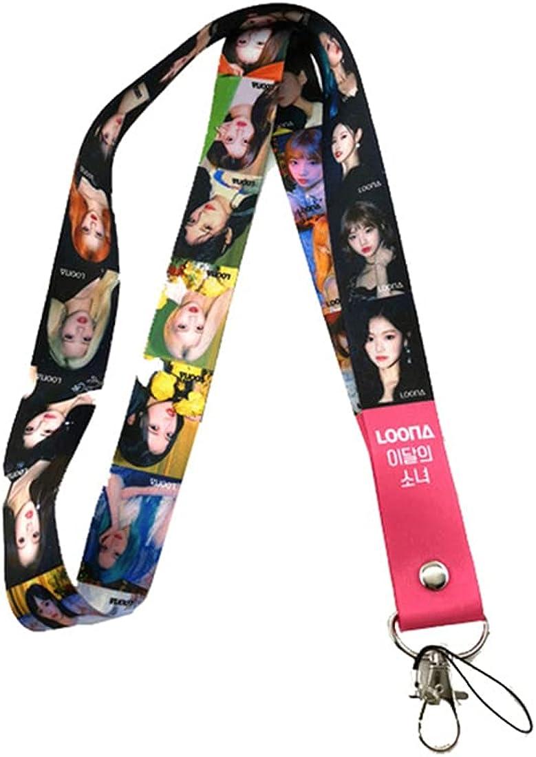 NC KPOP Straykids ENHYPEN GOT 7 TWICE SEVENTEEN Key Chain Phone Lanyard Kpop Merchandise