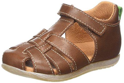 Froddo Unisex Sandal, Unisex Baby Lauflernschuhe, Braun (Cognac), 18 EU