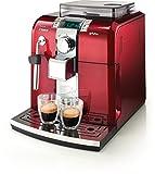 Philips HD8837, Rojo, Acero inoxidable, 1400 W, 230 MB/s, 50 Hz, 256 x 315 x 415 mm - Máquina de café