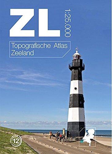 Topografische atlas Zeeland: alle kaarten in de schaal 1:25.000