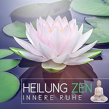 Heilung Zen innere Ruhe: Klänge der Natur (Zen Garten Klangtherapie) New Age Reiki Ausbildung, Tiefenentspannungslied und Meditationsmusik