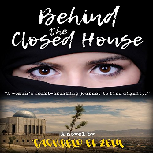 Behind the Closed House audiobook cover art