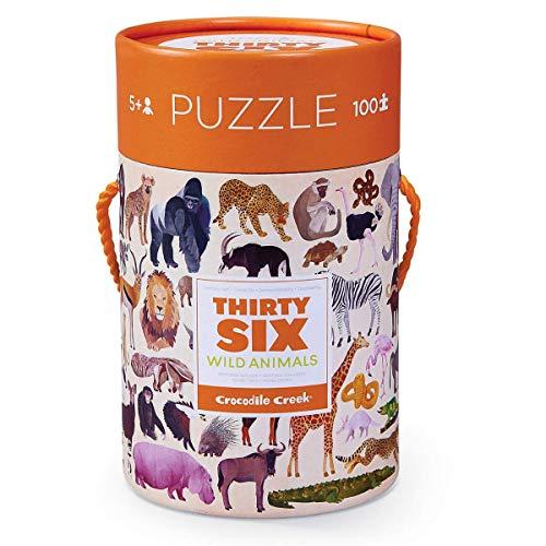 CROCODILE CREEK - Puzle en caja 100 piezas - Animales salvajes - CC-384054-2