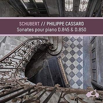 Schubert: Piano Sonatas, D. 845 & D. 850