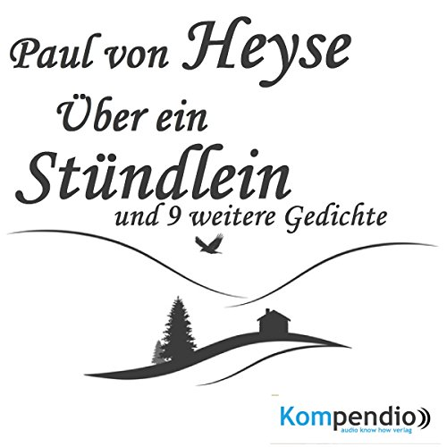 Über ein Stündlein audiobook cover art